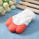 Newborn Baby Silicone Teether Gigi Lem Sarung Tangan Windproof Chewable Alat-Internasional - 5