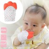 Newborn Baby Silicone Teether Gigi Lem Sarung Tangan Windproof Chewable Alat-Internasional - 2
