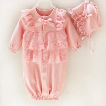 Jual Super Lucu Bayi Girls Renda Decor Baju Monyet Sleeveless Source · Bayi Baru Lahir Bayi Kids Girls Cap Hat Renda Baju Monyet Jumpsuit Pakaian Pakaian ...