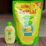 Gambar Produk Rinci NTR Buy 1 Get 1 Zwitsal Baby Bath 2in1 Hair & Body Pouch 450ml free Zwitsal hair lotion 50ml Terkini