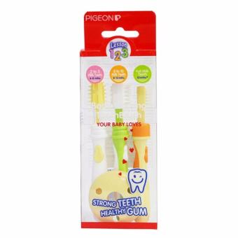 NTR Pigeon Training Toothbrush Set Sikat Gigi Bayi