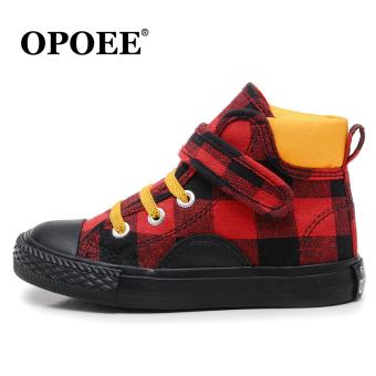 OPOEE Musim Semi atau Musim Gugur Sepatu Anak Laki-laki Sepatu Anak Sepatu