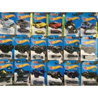 Paket 10 Pcs Hot Wheels Lamborghini Batman Batmobile BVS TH JDM Pagani Random
