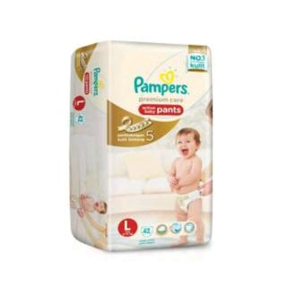 Pampers premium baby care active pants L42