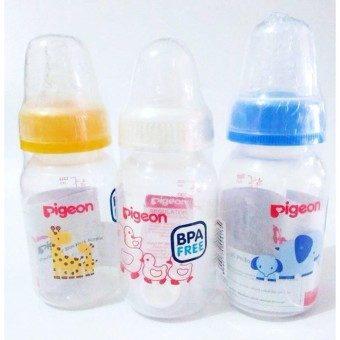Pigeon Botol Susu 120ml 3pcs- BSP028