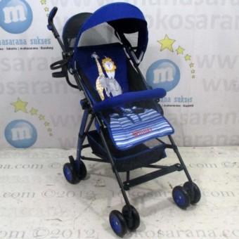 Pliko Buggy Winner PK-106 - Buggy Baby Stroller / Kereta Dorong Bayi - Biru