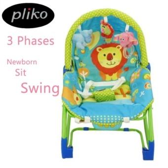 Pliko PK-308 Hammock Rocking Chair 3 in 1 Lion - Baby Bouncer / Ayunan