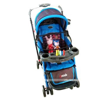Pliko Stroller New Grande S-268 With 4 in 1 Features - Kereta Dorong Bayi