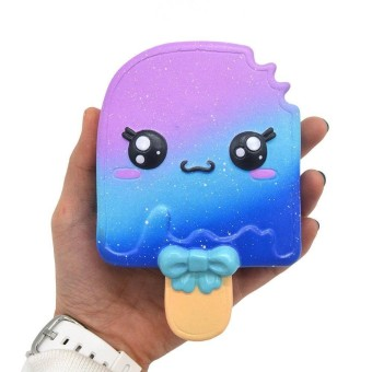 Ice Cream Slow Rising Squishy Fun Toys Key ) 3,5 inch .