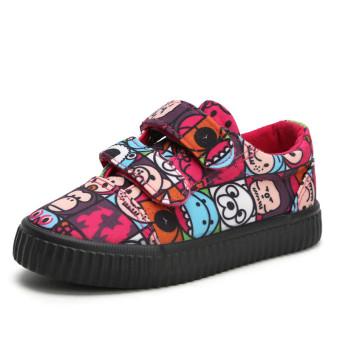 Prajurit gadis Velcro anak laki-laki sepatu anak sepatu sepatu kanvas 0f98996300