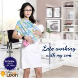PREMIUM GEOS Gendongan Kaos Baby Leon/Selendang Katun/Slendang Bayi Motif .