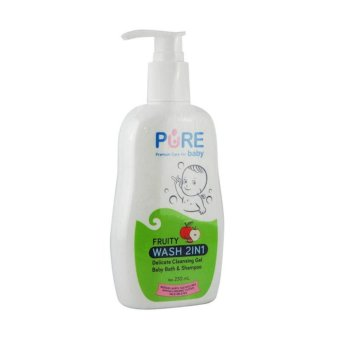 Pure Baby Baby Wash 2in1 Fruity230ml