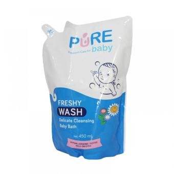 Pure Baby Bath Wash Freshy Refill - 450 ml
