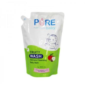 Pure Baby Bath Wash Fruity Refill - 450 ml
