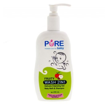 Pure Baby Wash Fruity 230ml