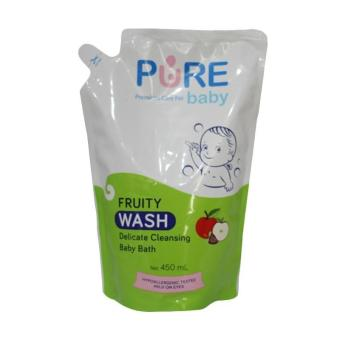 Pure Baby Wash Fruity 450ml - Refill