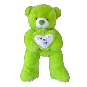 Raja Boneka Boneka Teddy Bear Love Besar Hijau