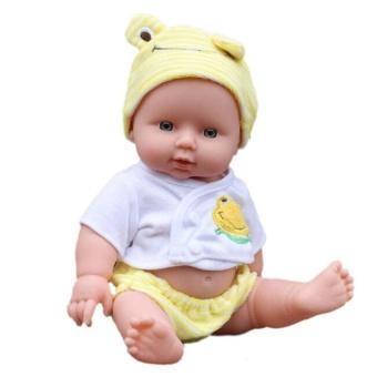 Reborn Bayi Doll Lembut Vinil Silikon Lifelike Bayi Yang Baru Lahir untuk  Perempuan Hadiah-Internasional 6ec8c9d315