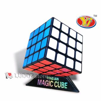 Rubik 4x4 BLACK Base Yong Jun Guansu LICIN Sangat Cocok Utk Speed Magic Cube 4x4x4 Dasar