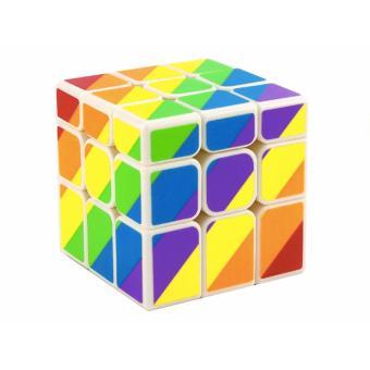 Rubik Jocubes 3x3 Unequal Rainbow Blocks