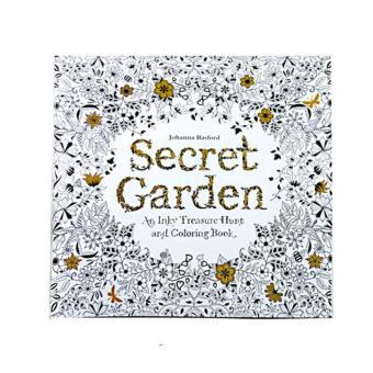 Secret Garden Bunga Anti Stress Buku Intelektual Mewarnai Lukisan Intl