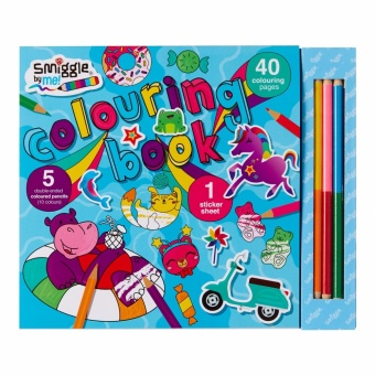Smiggle Book Colour Time