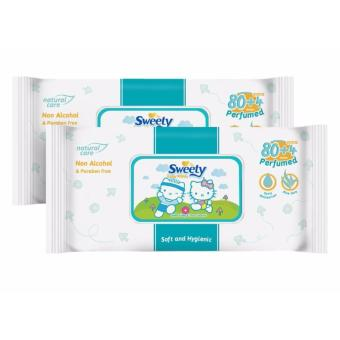 Sweety Baby Tisu Basah - 84 Sheet (2 Pack)