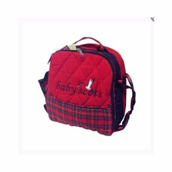 Wulanda Tas bayi baby scots alumunium foil / coler bag