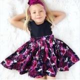 Balita Anak Bayi Perempuan Sister Pencocokan Bunga Jumpsuit Baju Gaun Pakaian Set-Internasional - 2 ...