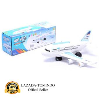 Tomindo Toys Pesawat Airbus A380 / no.588 (ukuran +/- 20 cm