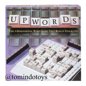 Tomindo Toys Upwords Board Game / Scrabble