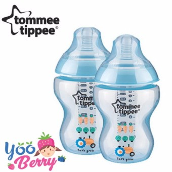 YooBerry Tommee Tippee Closer To Nature Botol Susu Bayi 260 ml Twin Pack