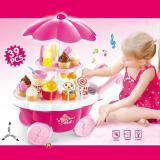 Toys Simulation Mini Candy Ice Cream Trolley Shop Pretend Play - 2