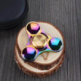 Unique Hot Sell Sunglasses Style Tri Fidget Spinner Metal Hand Spinner EDC Gyro Stress Toys Torqbar