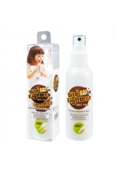 US Baby - Bite Fighters Organic Mosquito Repellent Spray - 120 ml