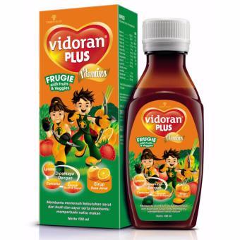 Vidoran Multivitamin Anak Syrup Plus Frugie [100 ml]