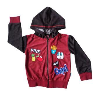 Tekken Fashion - Pakaian Anak Perempuan Fashionable - Gamis kids Polkacu. Source · Waka Kids Hoodie Zipper Jaket Anak Bayi Laki 2163 - Maroon