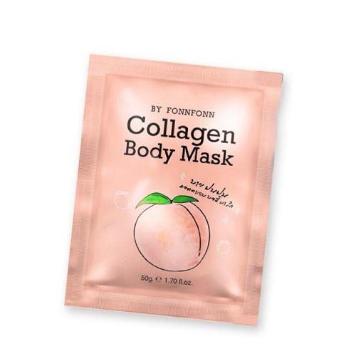 collagen body mask thailby fonnfonn  masker pemutih ba50gr