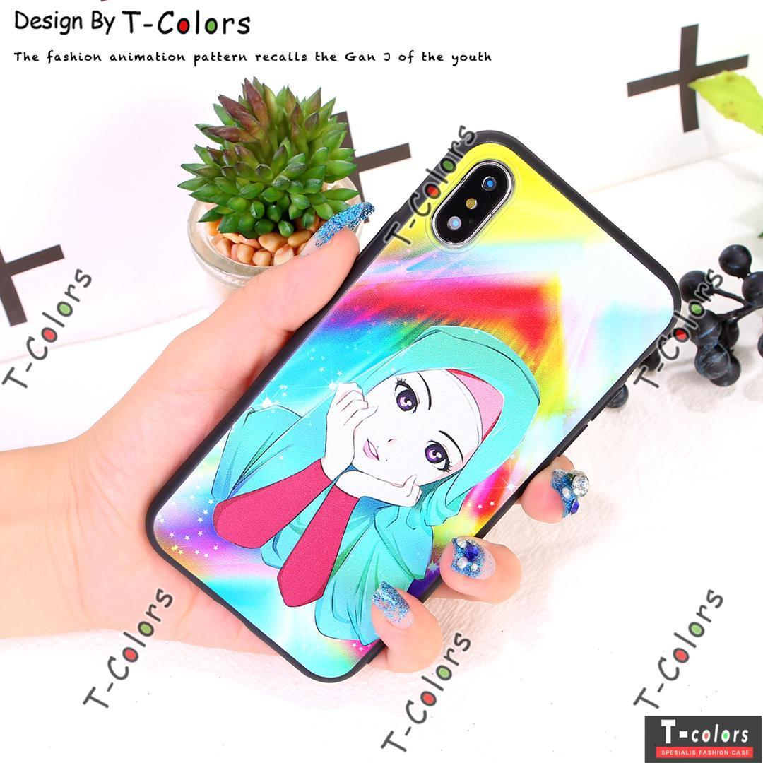 Detail Gambar Softcase Motif Hijab For Xiaomi Redmi 4A / Silicon Softshell Motif Hijab / Case