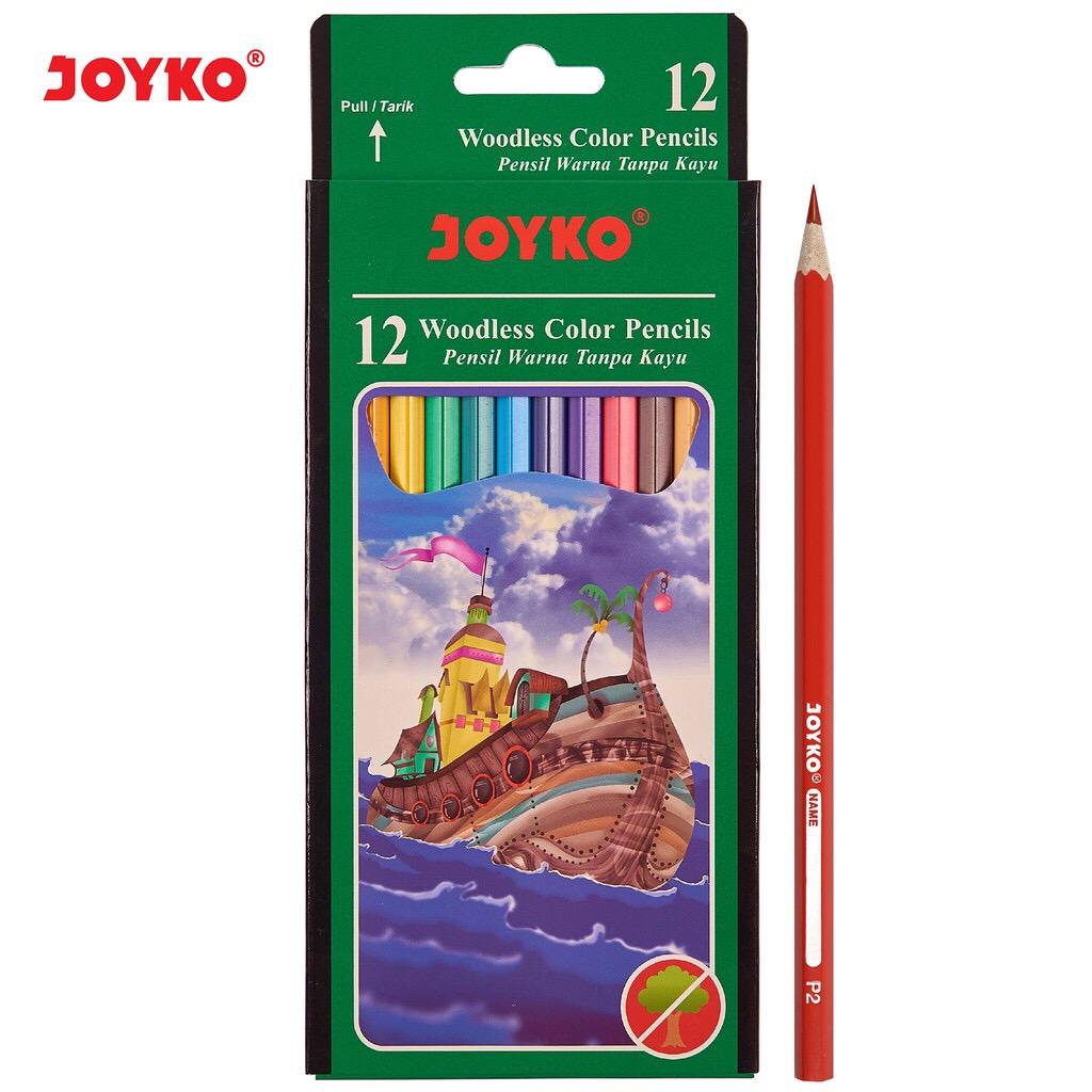 pensil warna joyko cp-103/ 12 warna