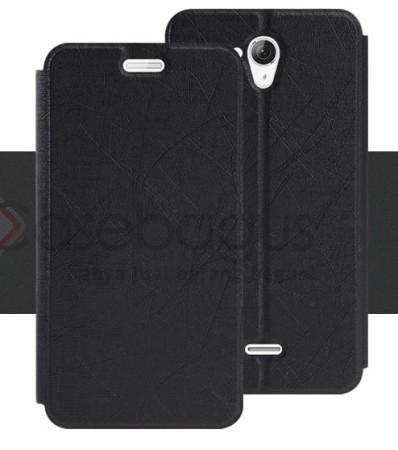 Silk Leather Flip Case Cover - Hisense F20