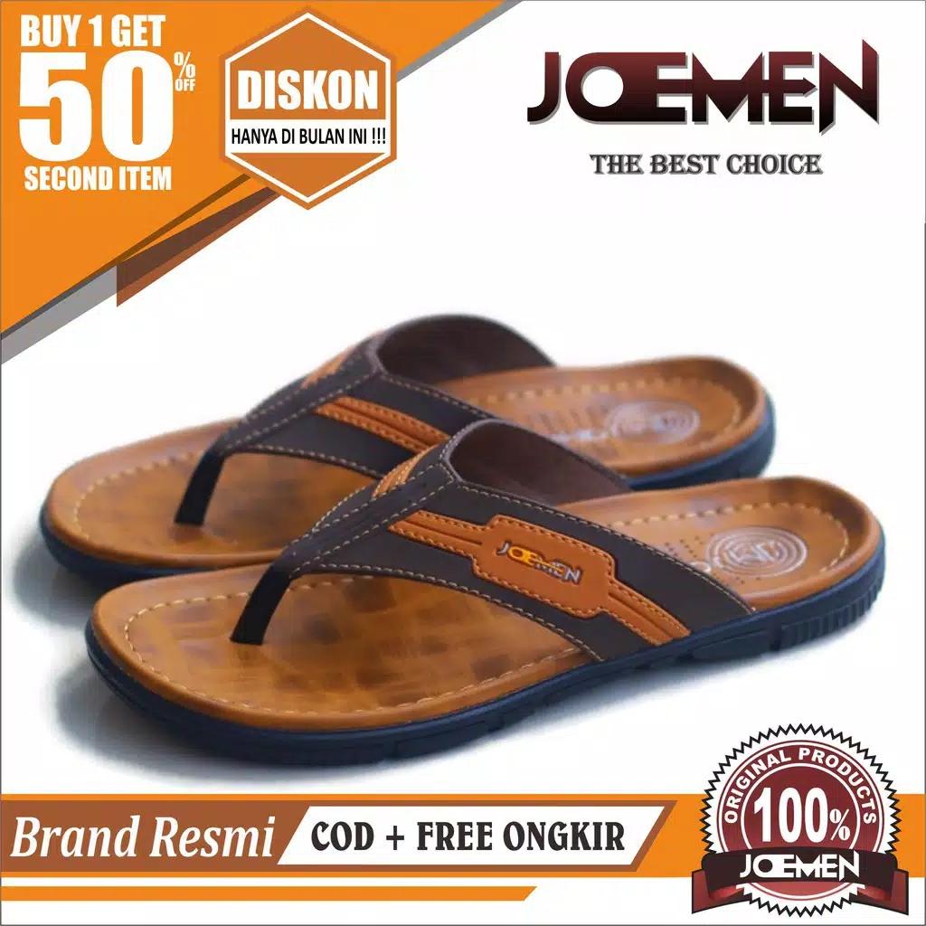 sandal kulit joemen s 31 original pria jepit import sandal japit hotel sandal flip flop sandal selop sandal distro sandal lebaran sandal bapak bapak