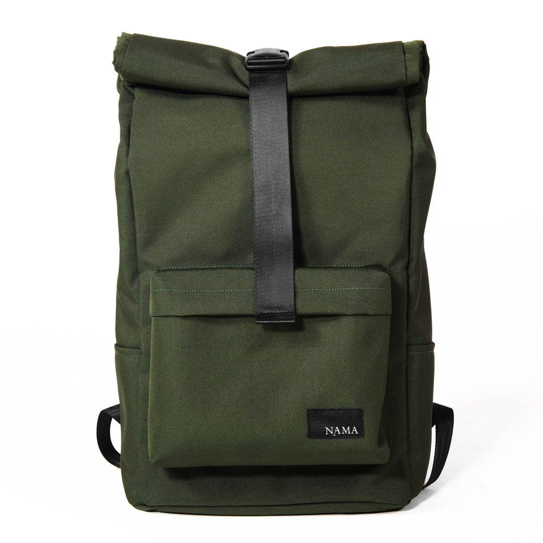 Tas Backpack Water Repellent Lite 322 Hijau Army NAMA Studios