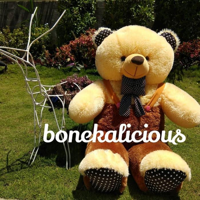 Boneka Beruang Teddy Bear Jojon Besar Jumbo Xl 80 Cm (Boneka SP 3248)