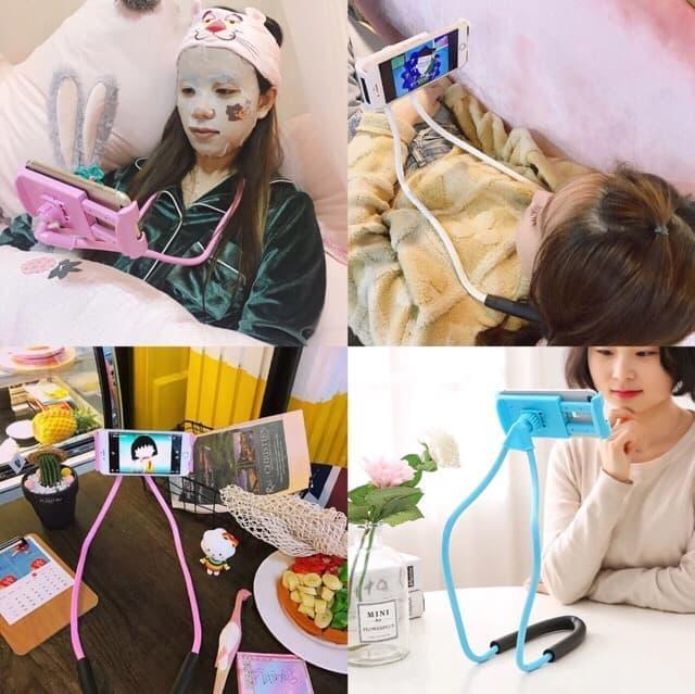 Promo harga termurah lazy neck LAZY HANGING NECK PHONE HOLDER LEHER HP LAZYPOD LAZY NECK POD