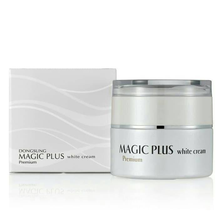Magic Plus White Cream Asli Krim Korea | Moel Rizette Vonvon Gold