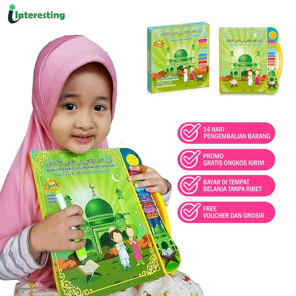 playpad mainan anak ebook muslim 3 bahasa ( /arab/inggris ) mainan edukatif anak tablet version – belajar sambil bermain