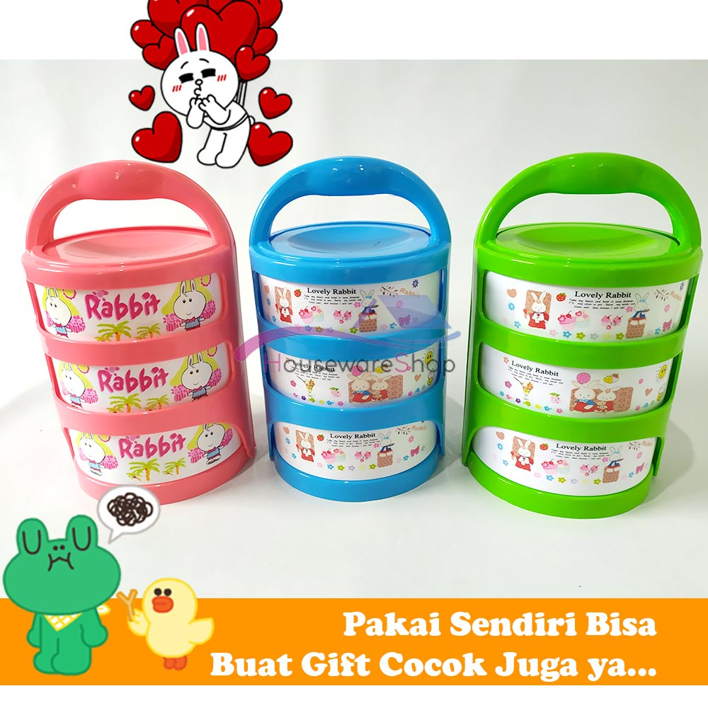 rantang lunch box hommy nikita susun 3