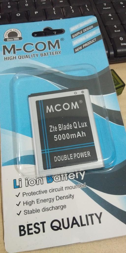 Power Phone E1 MCOM - Baterai Batre Batery Battery Batrai Battre Modem ZTE Bolt Powerphone . Power Phone E1