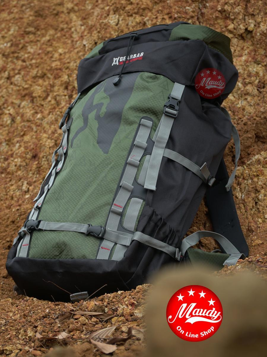 tas gunung 70 liter gear bag – tas carrier – tas hiking kemping berkemah – ransel outdoor – tas keril